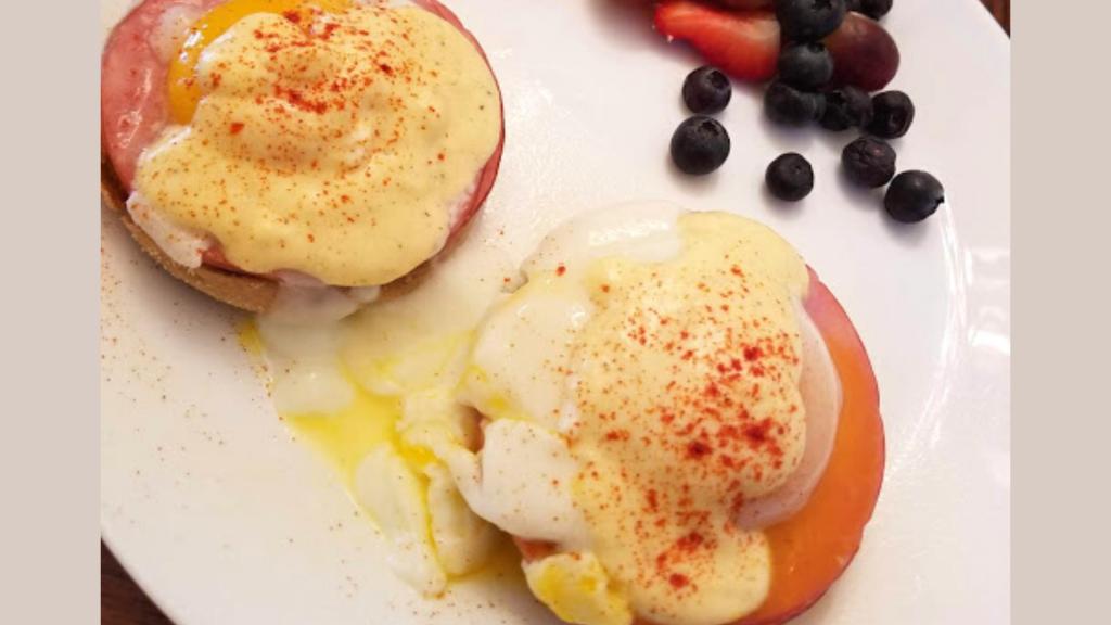 Lightened Up Eggs Benedict Recipe